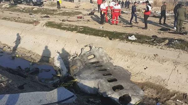 Названа причина крушения украинского авиалайнера