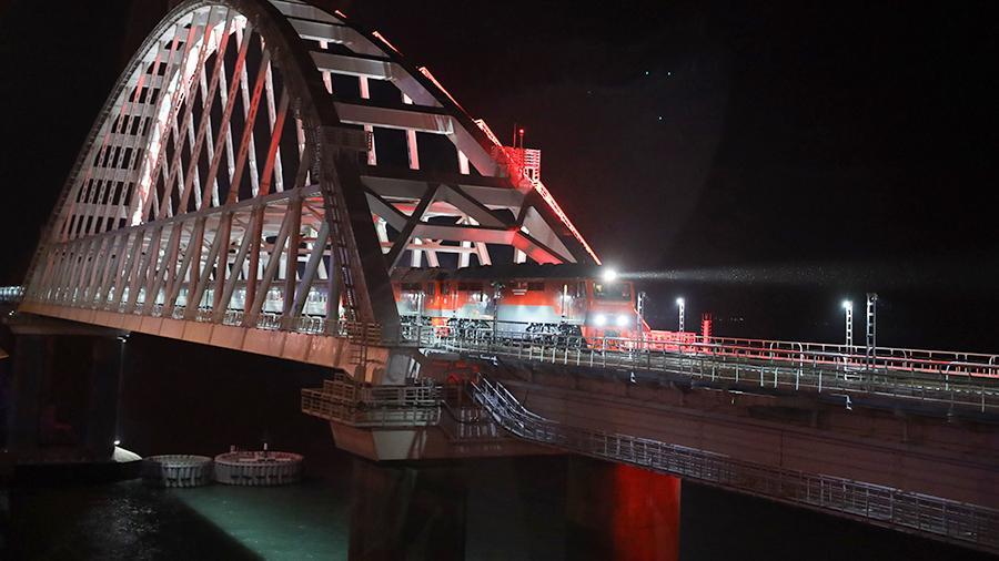 Маршрут выходного дня по Крымскому мосту на поезде