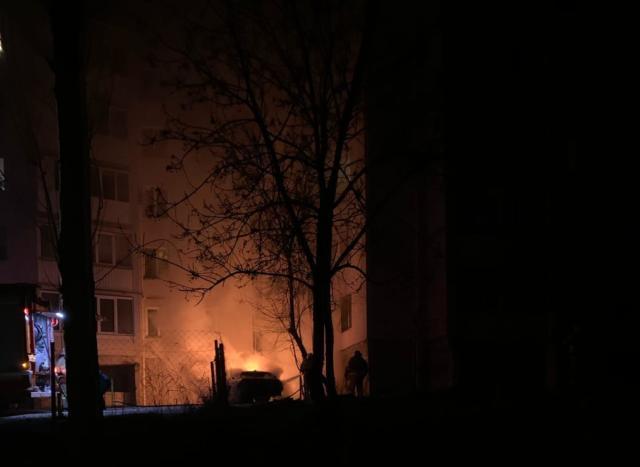 Ночью в Крыму дотла сгорела легковушка