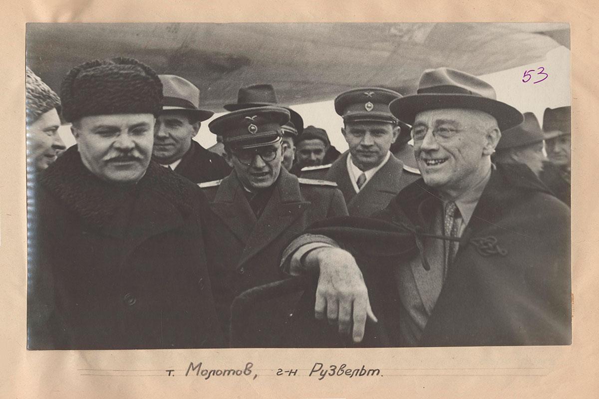 Минобороны рассекретило документы и фото Ялтинской конференции 1945 года