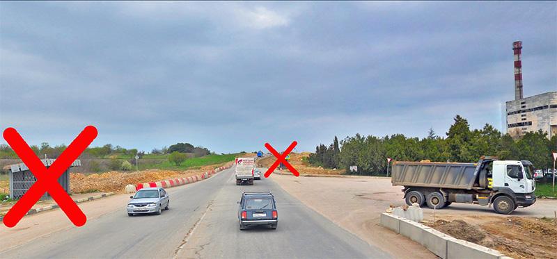 На Камышовом шоссе ликвидируют две автобусные остановки