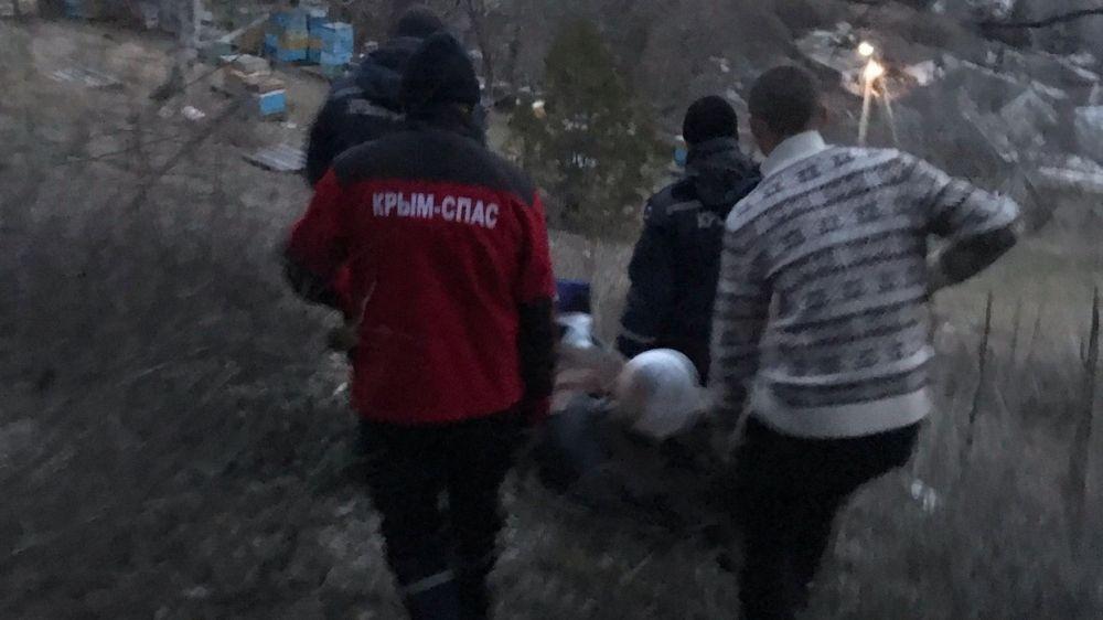 Турист упал с 15-метровой высоты в горах Крыма