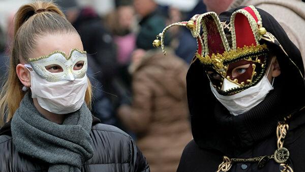 В Венеции закрыли карнавал из-за коронавируса