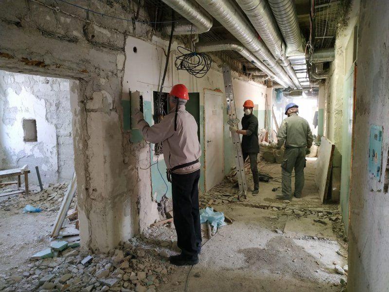Когда в севастопольском онкодиспансере завершится ремонт