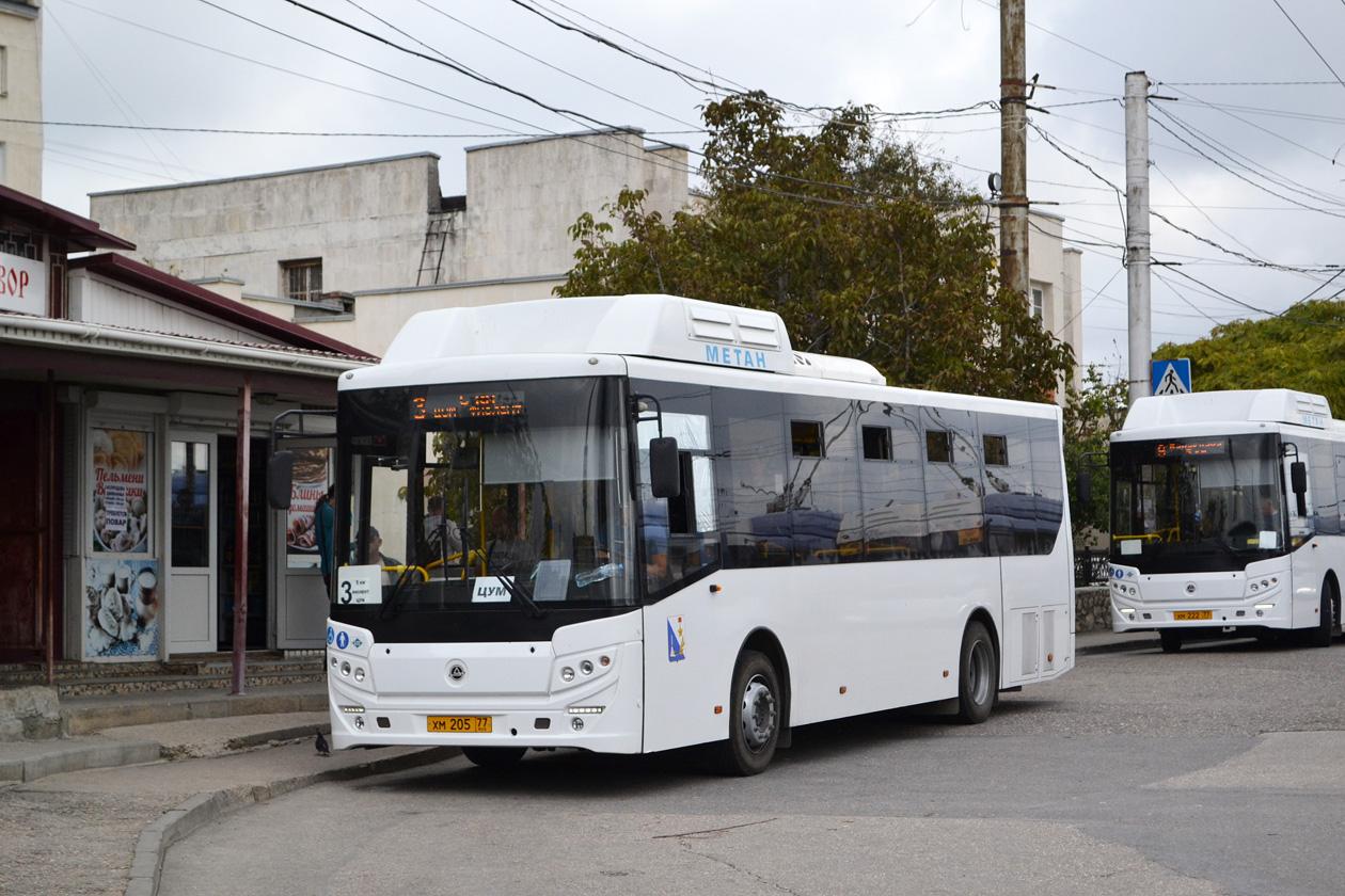 Из-за морозов в Севастополе отменили некоторые автобусные маршруты