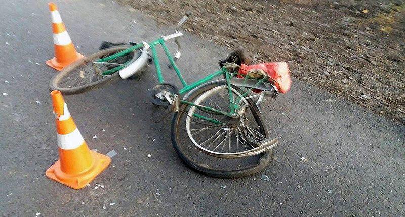 В Крыму ВАЗ наехал на велосипедистку