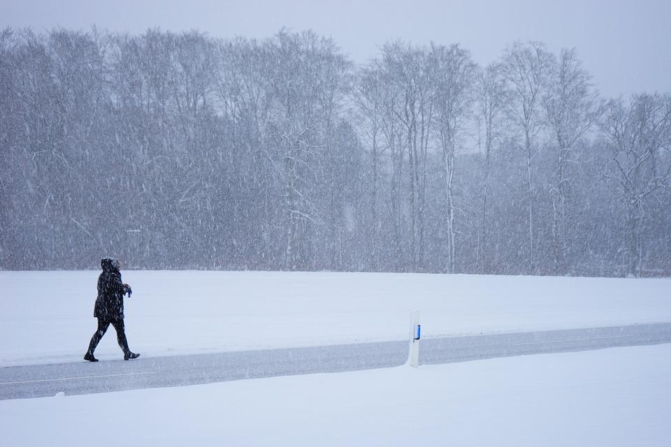На Крым надвигается настоящая зима