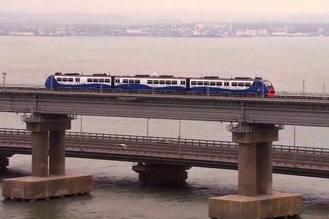 Стала известна цена билета на поезд между Анапой и Керчью