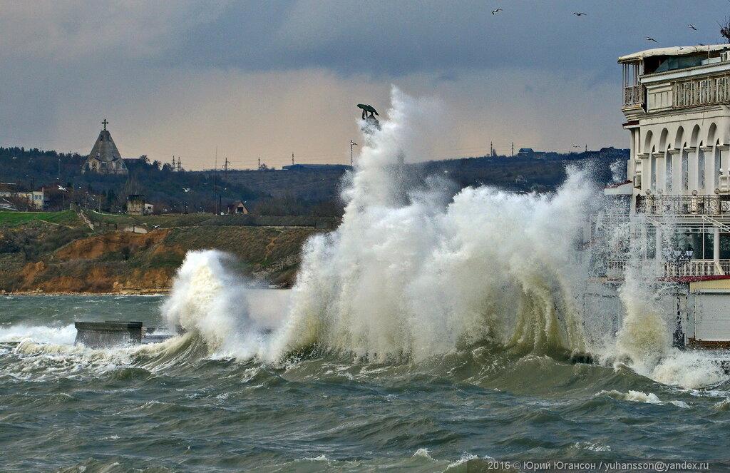 На Севастополь надвигаются штормовой ветер и похолодание — МЧС