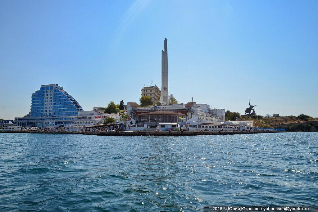 В Севастополе проведут реконструкцию обелиска «Штык и парус»