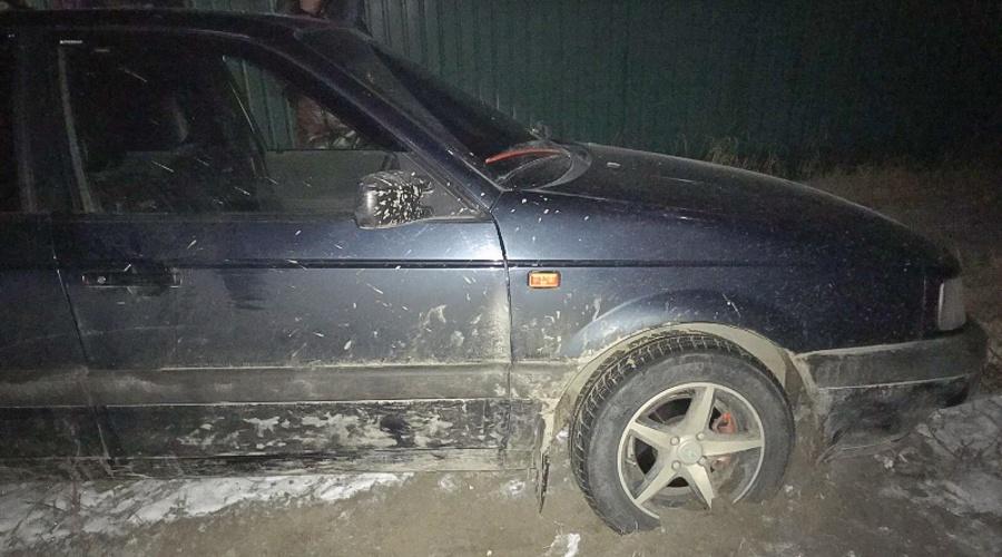 В Нижнегорском районе полиция устроила погоню за нетрезвым водителем