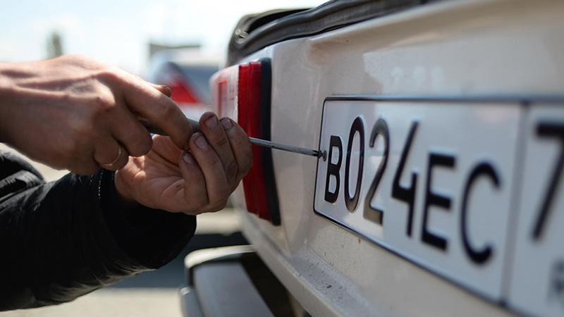 В России предложили добавить цифры на госномера автомобилей