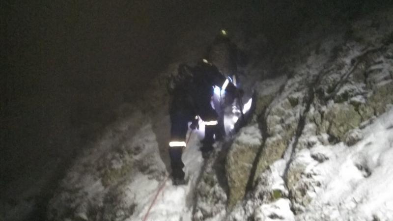В горах Крыма в темное время суток заблудились туристы с ребенком