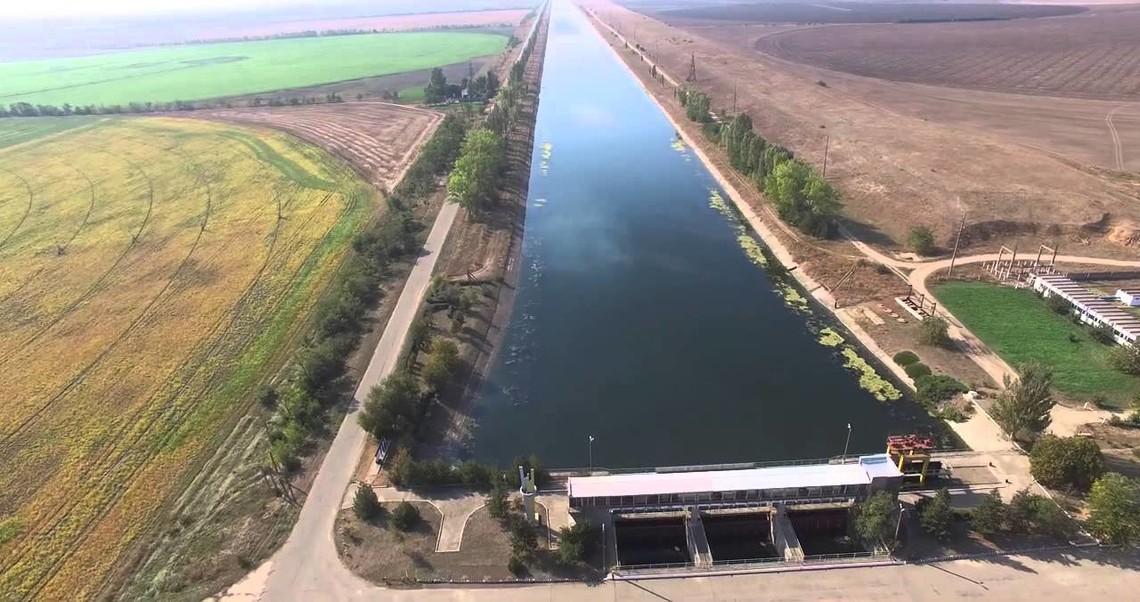 На Украине готовятся к подаче воды в Крым