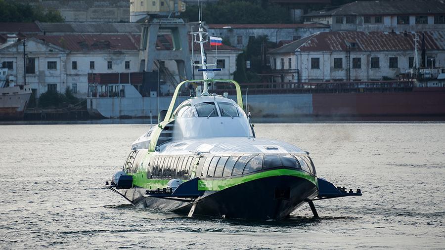 В Севастополе завершили строительство второй скоростной «Кометы»