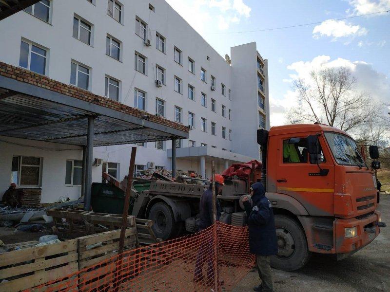 Как работает акушерская служба Севастополя во время ремонта роддома №2