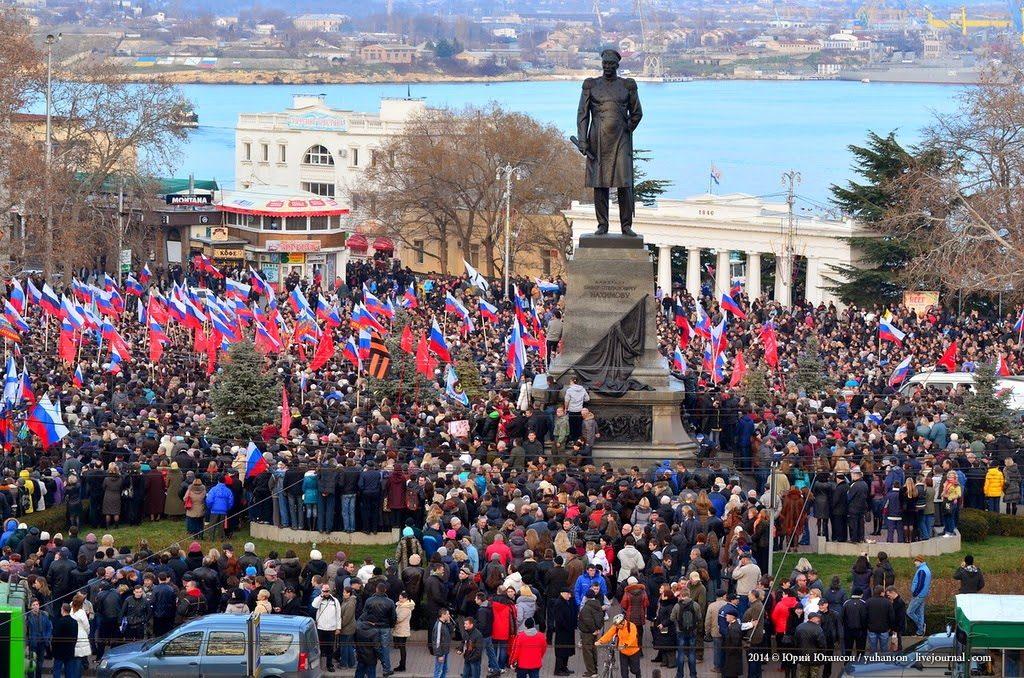 На Украине захотели разрушить памятник Нахимову в Севастополе