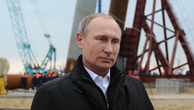 Сегодня в Крым приедет Владимир Путин