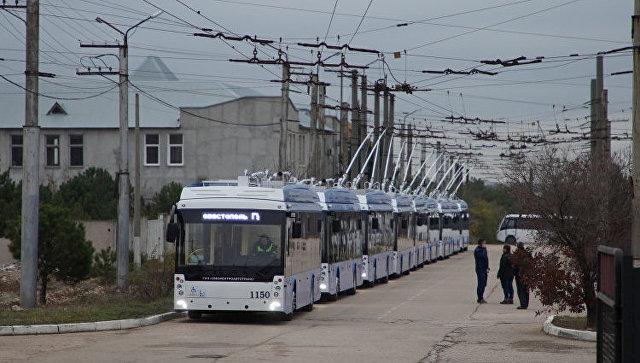В Севастополе перестанут ходить троллейбусы, а автобусы переходят на особый график