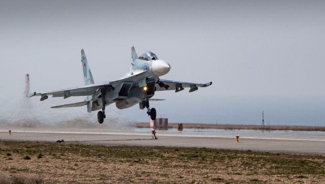 Самолет Минобороны России потерпел крушение у берегов Крыма