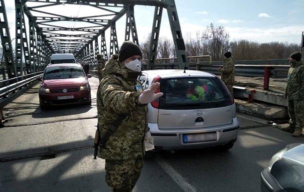 На украинской границе крымчан массово проверяют на коронавирус
