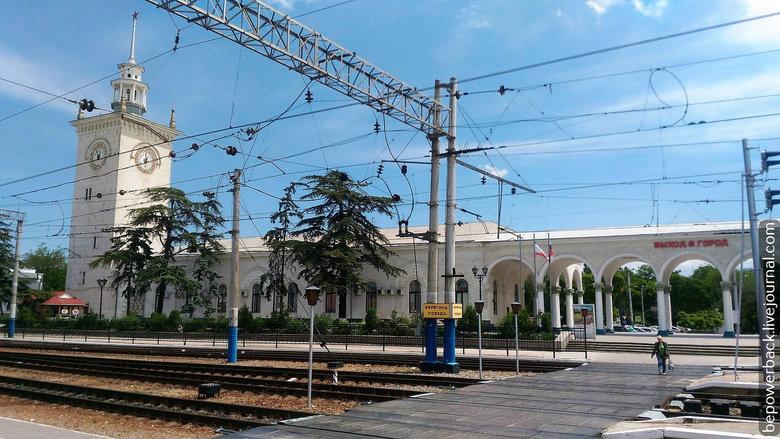 Житель северной столицы пытался «взорвать» ЖД-вокзал в Симферополе