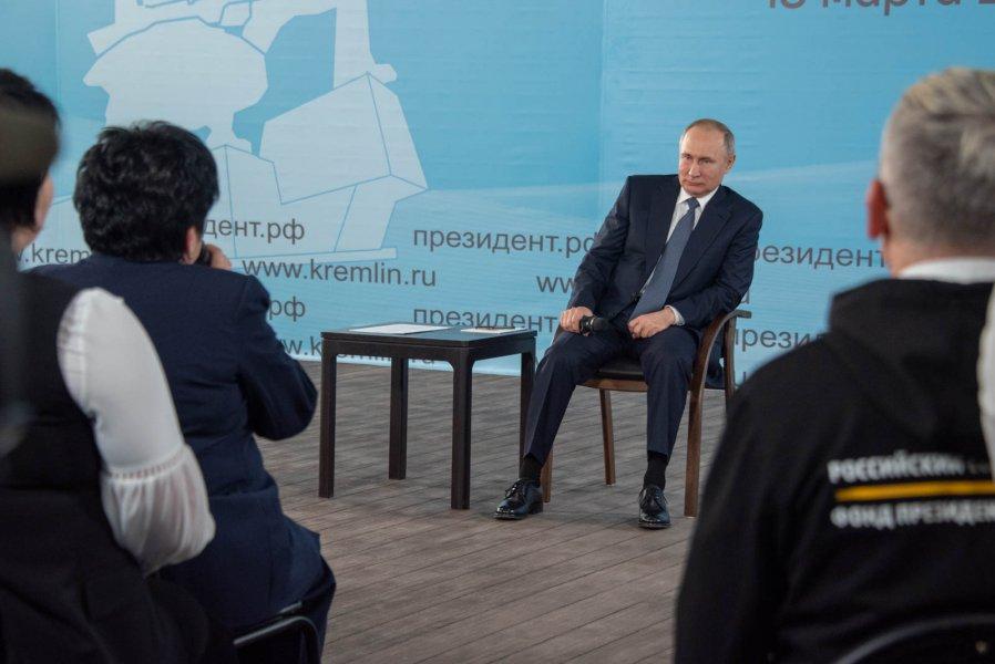 Владимир Путин поддержал идею возобновления работы молочной кухни в Севастополе