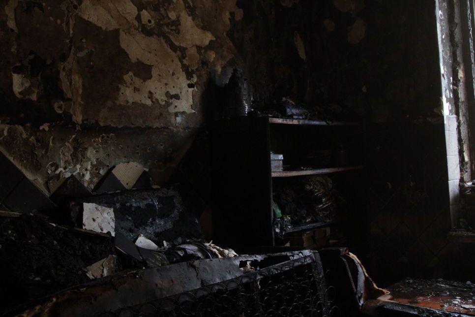 Квартира сгорела дотла: на пожаре в Севастополе погиб человек
