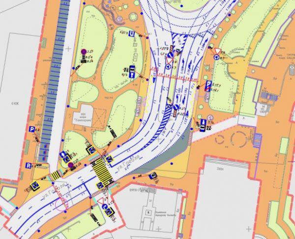 Деревьям – да, пешеходному переходу – нет: архитекторы рассказали о будущей планировке площади Ушакова