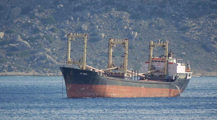 На сирийском судне в Керченском проливе произошел «хлопок»