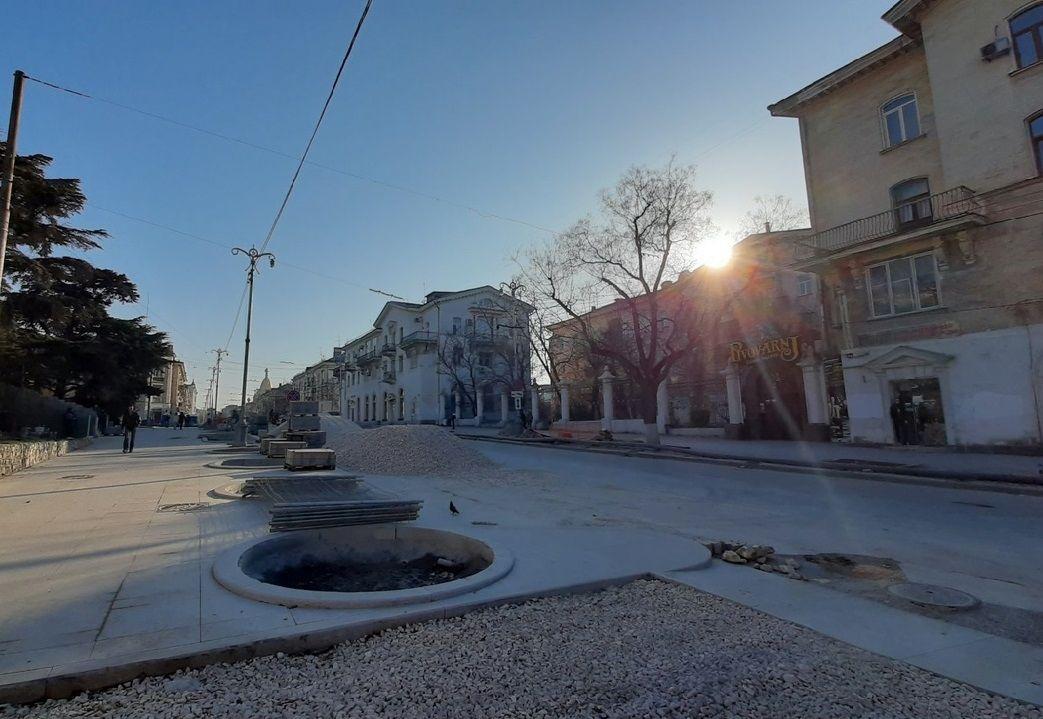 На Большой Морской в Севастополе меняется организация дорожного движения