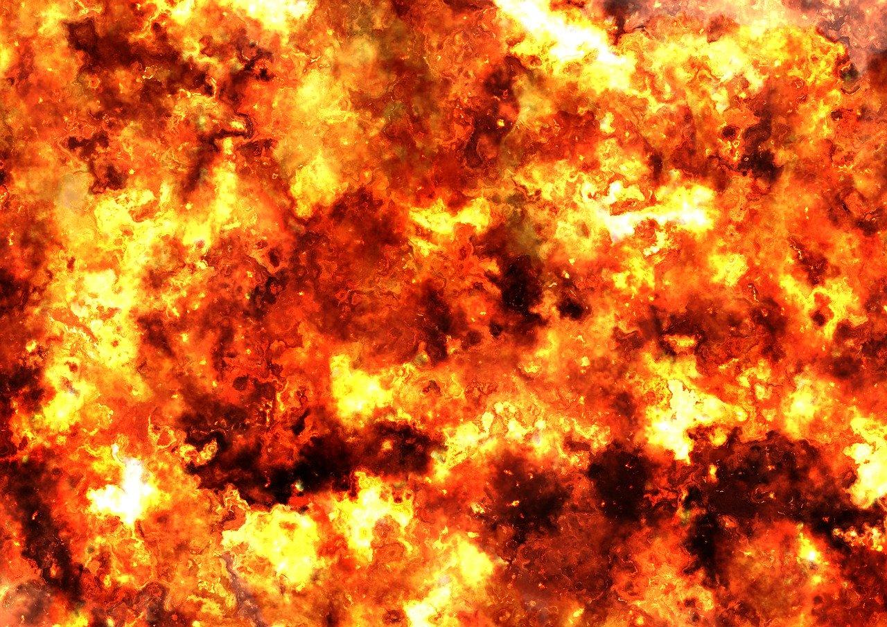 В Симферополе «загорелся» супермаркет