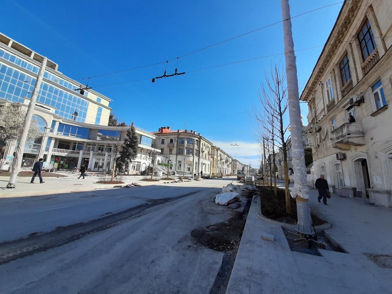 На Большой Морской в Севастополе – новый этап озеленения