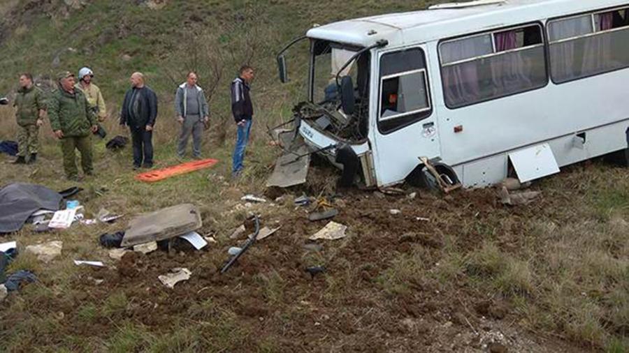 Погибли два пассажира: в Крыму будут судить водителя автобуса за ДТП