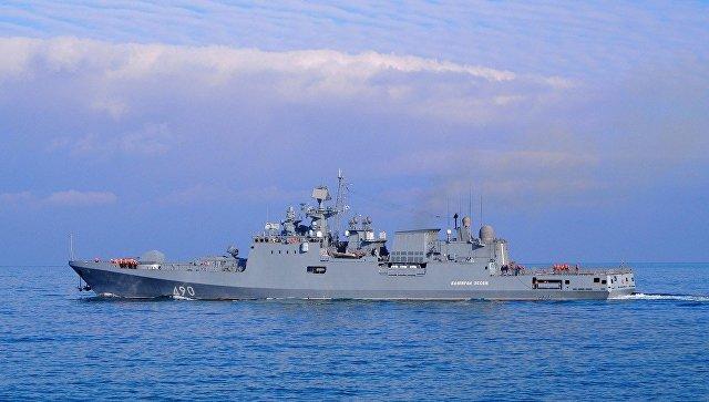 Вернувшихся из Средиземного моря моряков ЧФ посадят на карантин в Севастополе