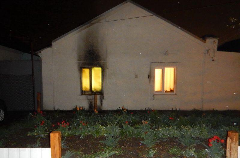 Ревнивый крымчанин  попытался сжечь дом любимой девушки