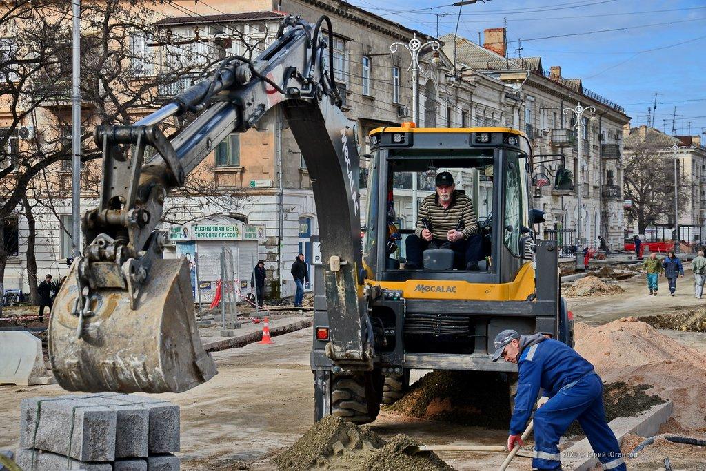 В Севастополе не будут останавливать стройки из-за коронавируса