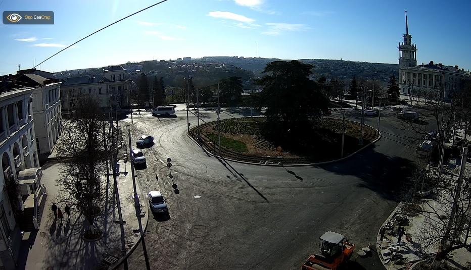 В Севастополе завершается реконструкция площади Ушакова