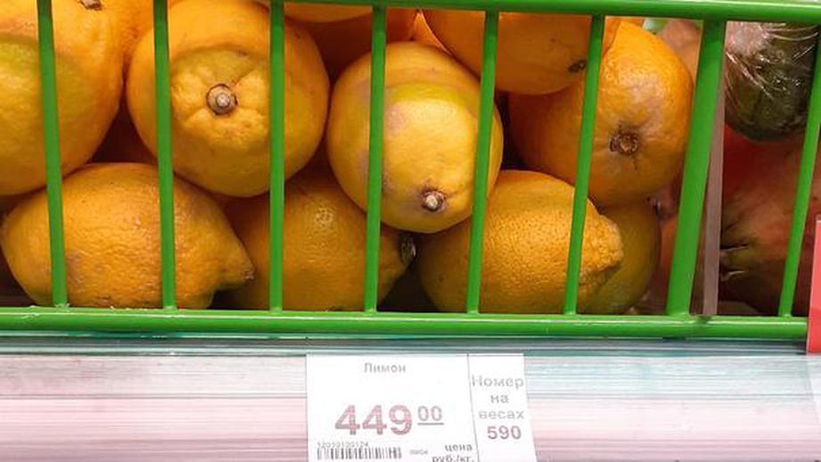 ФАС проверит поставщиков из-за 500-процентного подорожания лимонов