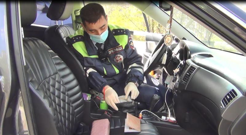 В Севастополе задержали автоледи с амфетамином