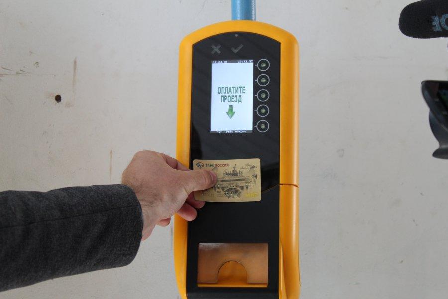 Оплатить проезд в транспорте Севастополя теперь можно банковской картой