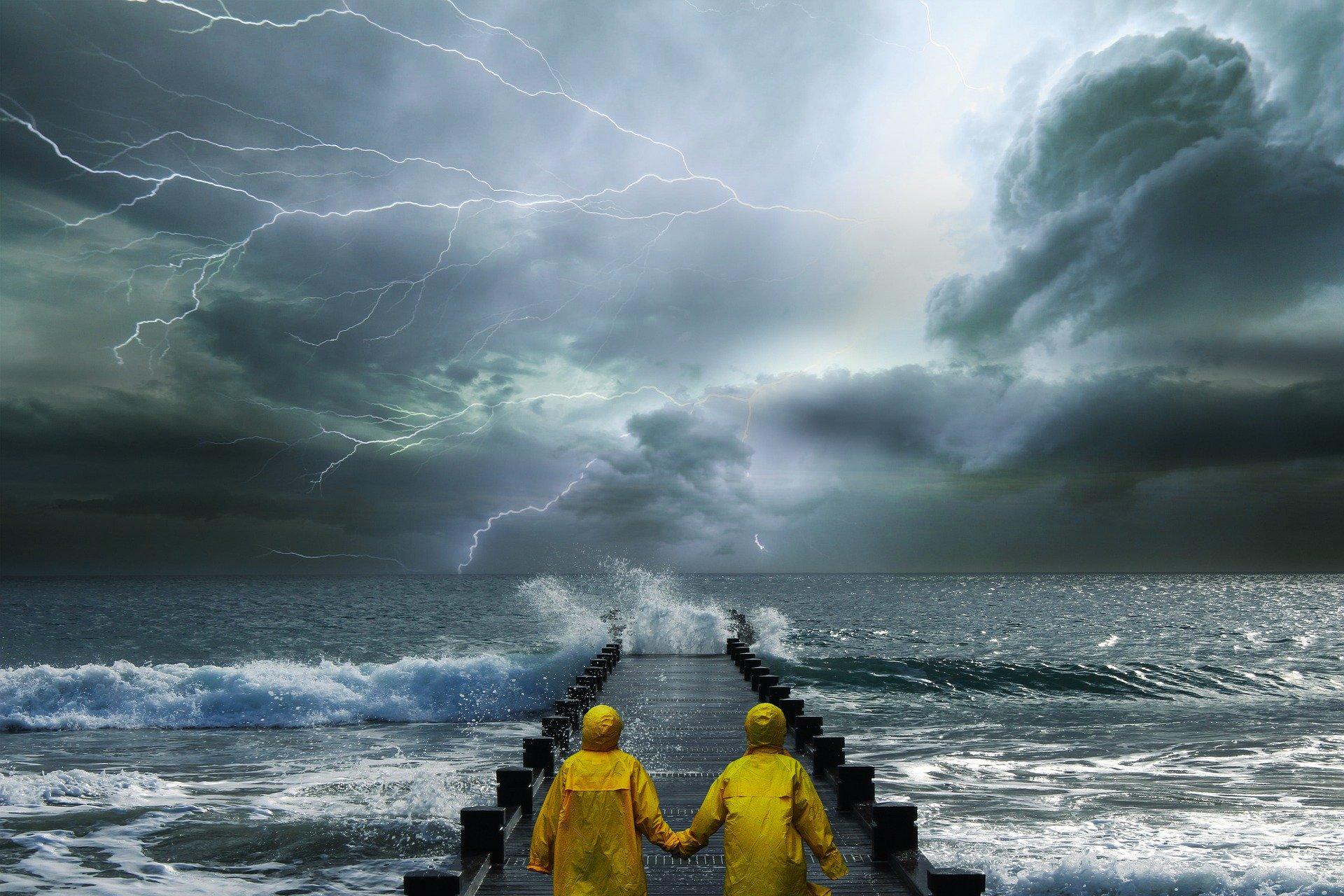 На Крым надвигается ураганный ветер