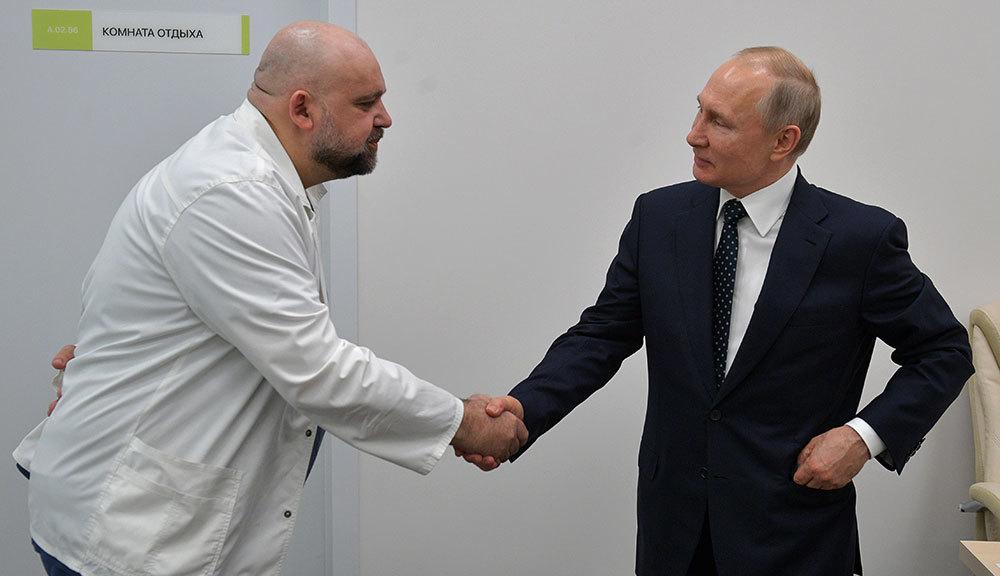 Путин регулярно проходит тест на COVID-19