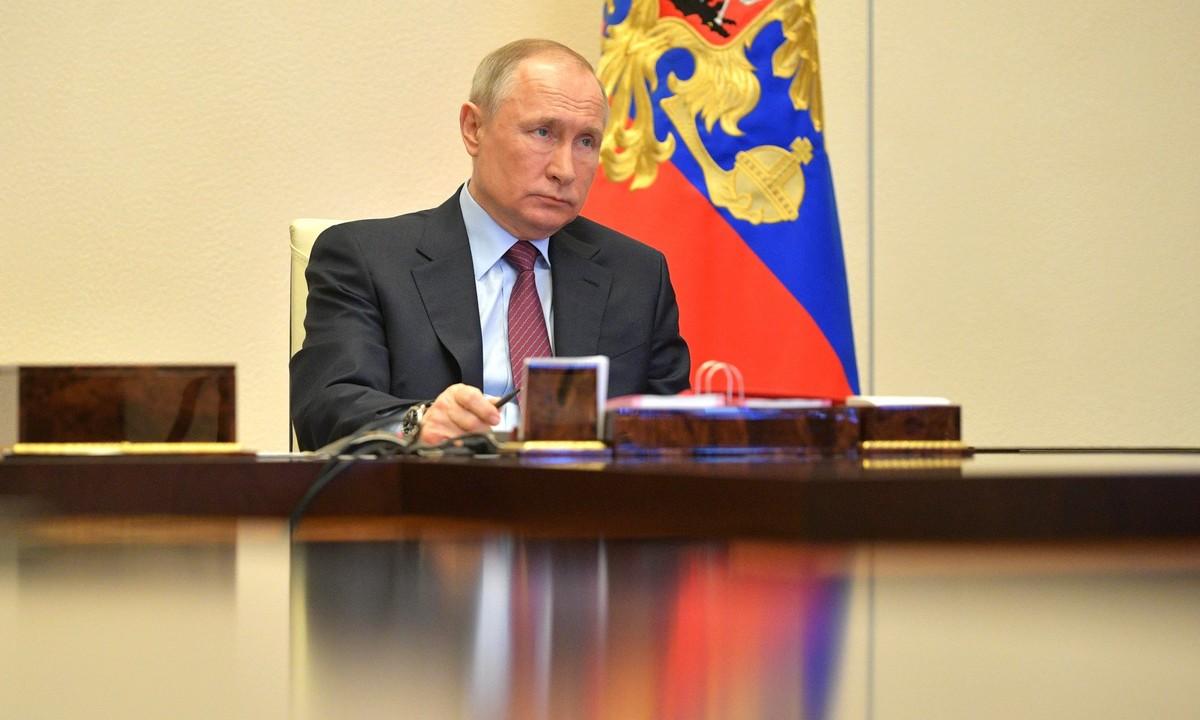 Путин сегодня вновь выступит с обращением