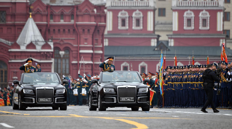 В Кремле допустили перенос парада Победы