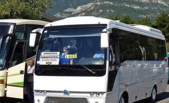 В Крыму возобновилась работа междугороднего транспорта