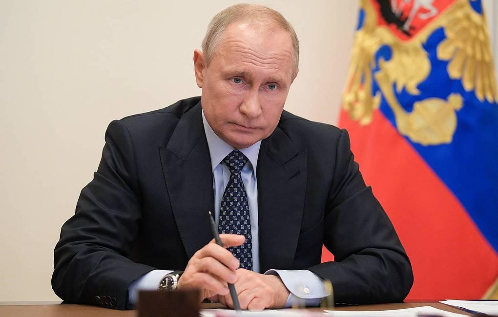 Путин выступит с новым обращением на тему коронавируса 6 мая