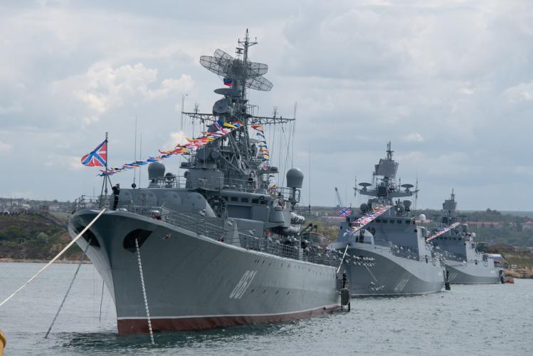 В Севастополе прошло празднование Дня Черноморского флота