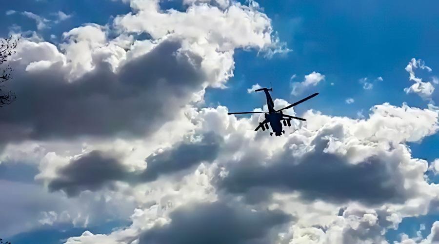 Обнародовано жуткое фото с места крушения вертолета в Крыму