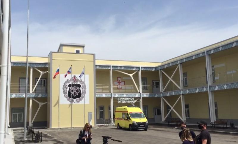 В Севастополе завершили строительство инфекционного госпиталя